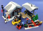 LEGO Winter Village Lumber Yard by Mister-oo7
