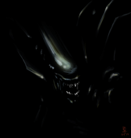 Xenomorph Queen by puky7