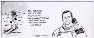 RIP Neil Armstrong by RABBI-TOM