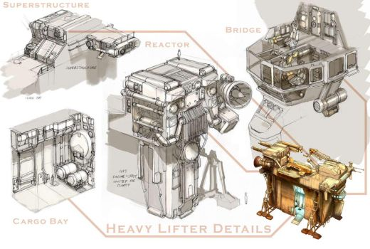 Heavy Lifter Details by MikeDoscher