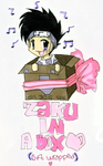 . Zaku in a Box . by Pocky-Chan