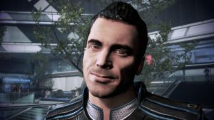 Kaidan's Smile - Mass Effect 3 by loraine95