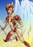 Warrior Angel by CapnFlynn