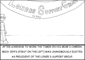 Loner's Support Group by Mr-M7