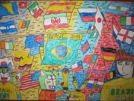 World Cup 2014 by thedoraemons7