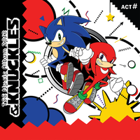 TSS Music Album and Knuckles cover by SonicTheBlueStar