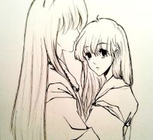 Inuyasha and Kagome by Chisieumap