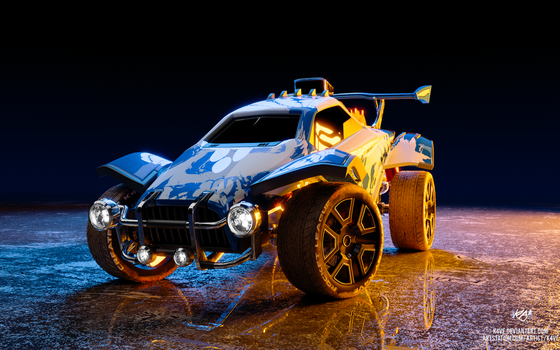 Rocket League - Octane by K4VE