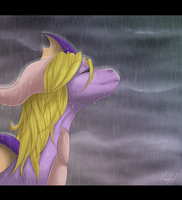 .:Feel the rain drops:. by Rorita-Sakura