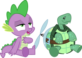 I'm a dragon, not a tortoise by porygon2z