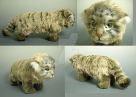 Realistic Pallas Cat Plush by WhittyKitty