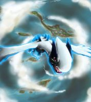 Lugia Rise by Black-Wing24