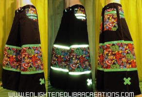 Avengers Phat Rave Pants by RedheadThePirate