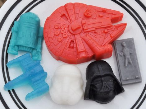 Star Wars novelty soaps by Dread-Lady-Nathicana