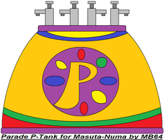 Parade P-Tank for Masuta-Numa by MarioBlade64