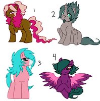 Pony Adopts-closed by oCrystal