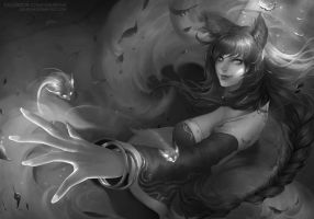 Study - Ahri from League of Legends by ChubyMi