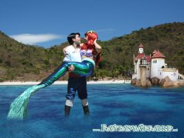 ariel and eric by Fantasyaffaire