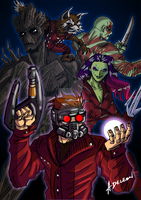 Guardians of the Galaxy by ADL-art