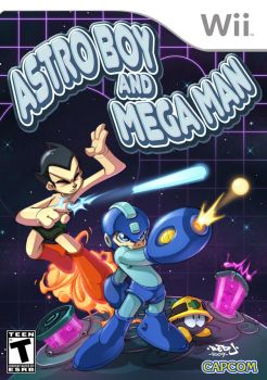 Megaman and Astro boy by Red-J