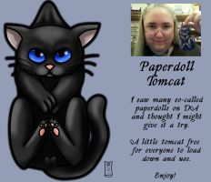 Paperdoll Tomcat by Siobhan68