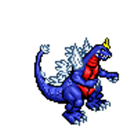 Space Godzilla Sprite test by BLZofOZZ