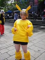 gijinka: Pikachu goes oomph by Tamarah