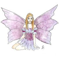 Faerie in Purple by Puppy-eater