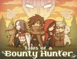 CHIBI Tales of a Bounty Hunter by Reganov