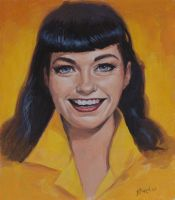 Bettie Page - Casein by BrittMartin
