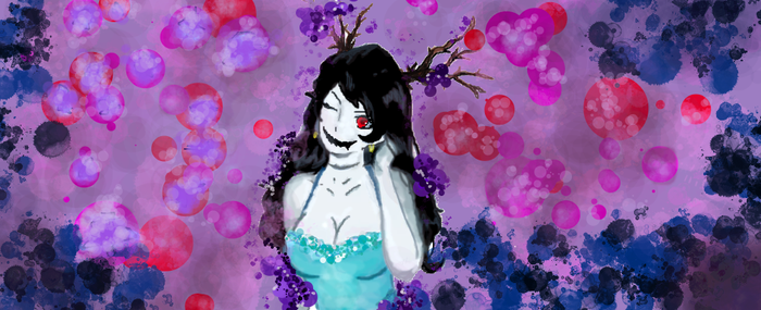Lubella, the Witch of decay by Selenophy369