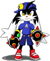 Klonoa 2 Iron Fist by emichaca