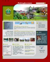 Malangkota Web Layout3 by champchoel