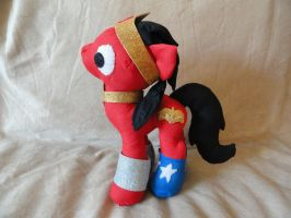 wonder woman pony by RighteousBabet
