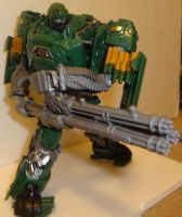 hound mini gun duel wield by lovefistfury