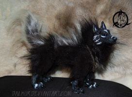 Ooak art doll canine 1 by Dalkur