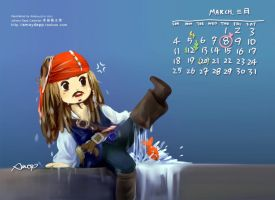 Calendar March by amoykid