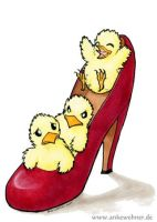 Chicks in Highheels by ankewehner