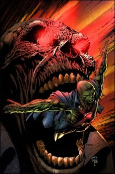 Martian Manhunter by puzzlepalette