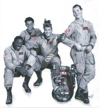 Ghostbusters by RegisteredHearse