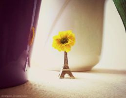 Flower of Paris by Akirahpaws