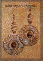 Harmonious Creativity Earrings by RavingEagleMedia