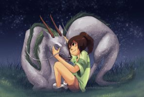 Spirited Away by scriptKittie