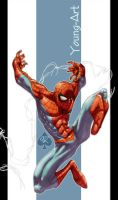 Quick Spider-man Spade92 Color by ParisAlleyne