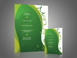 Menu card by artofmarc