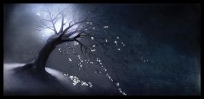 The tree of lost words (Albero surreale) by Frandali