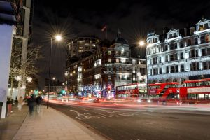 London High Street by Matejko