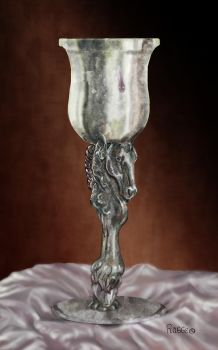 Pewter Horse Cup by Hagge