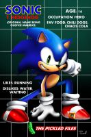 Pickle Unleashed Bios: Sonic by miitoons