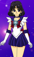 Senshi of Saturn by Sailor-Serenity